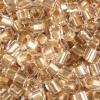 2-Cut Beads Extra Size 9 Crystal Bronze Lined
